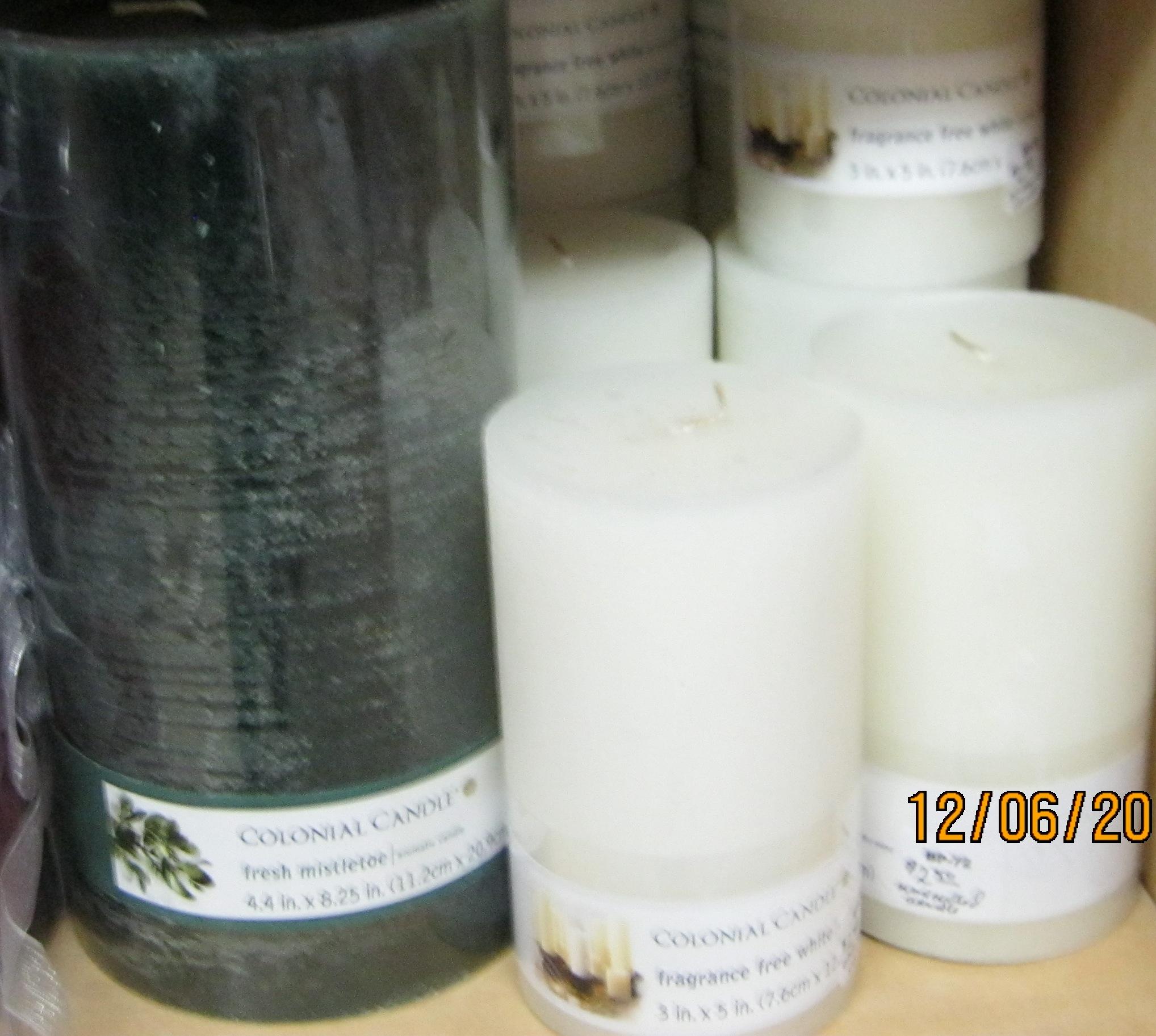BP-72 Candles