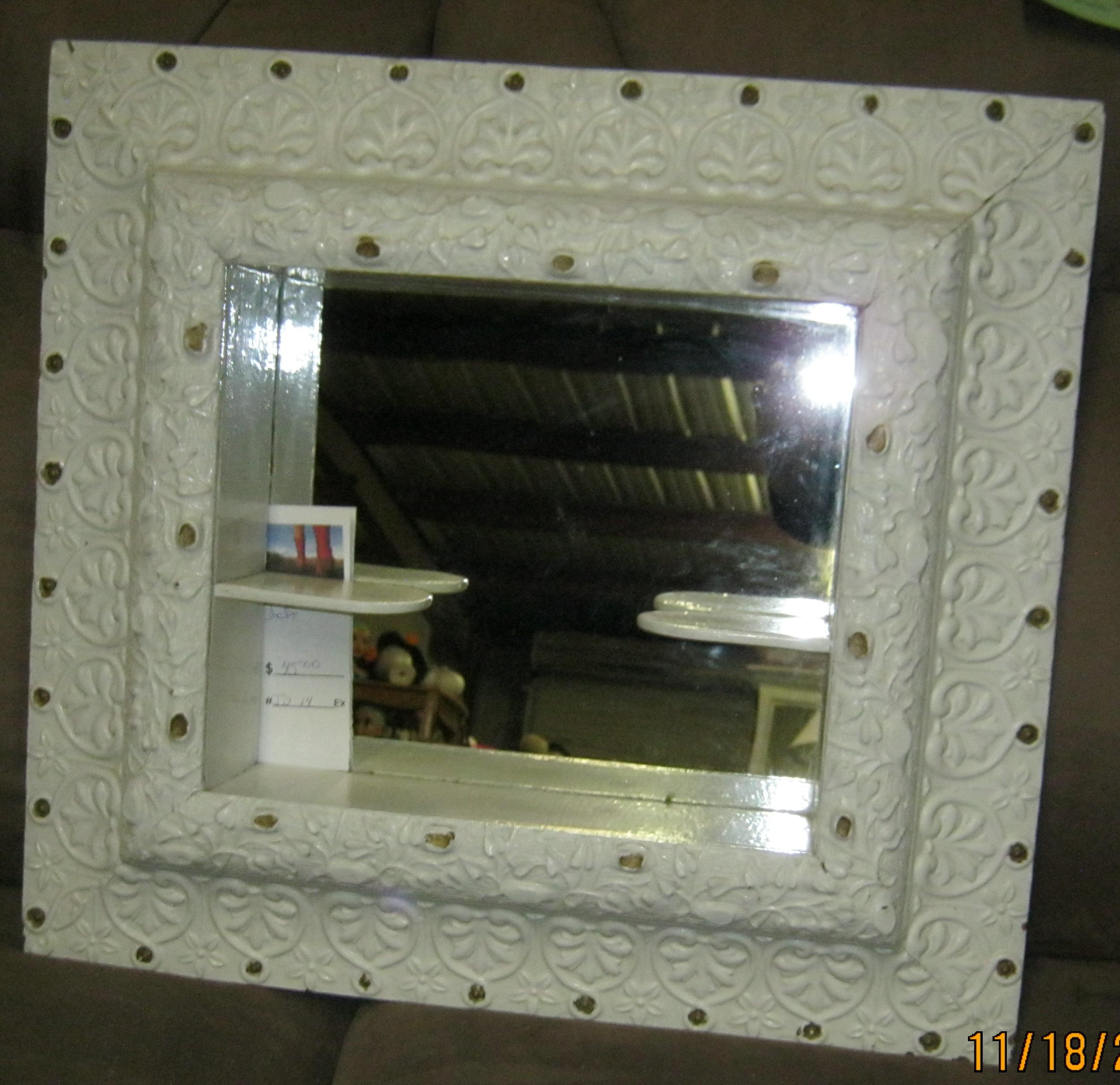 JD-14 Shadow Box Mirror Shelf