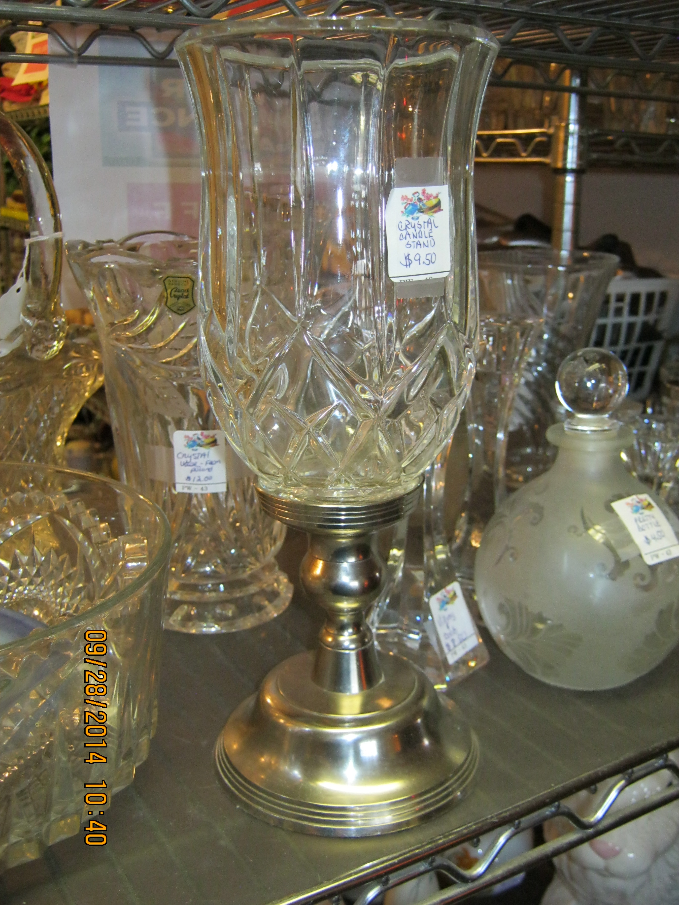 PW-43 Glass Wares