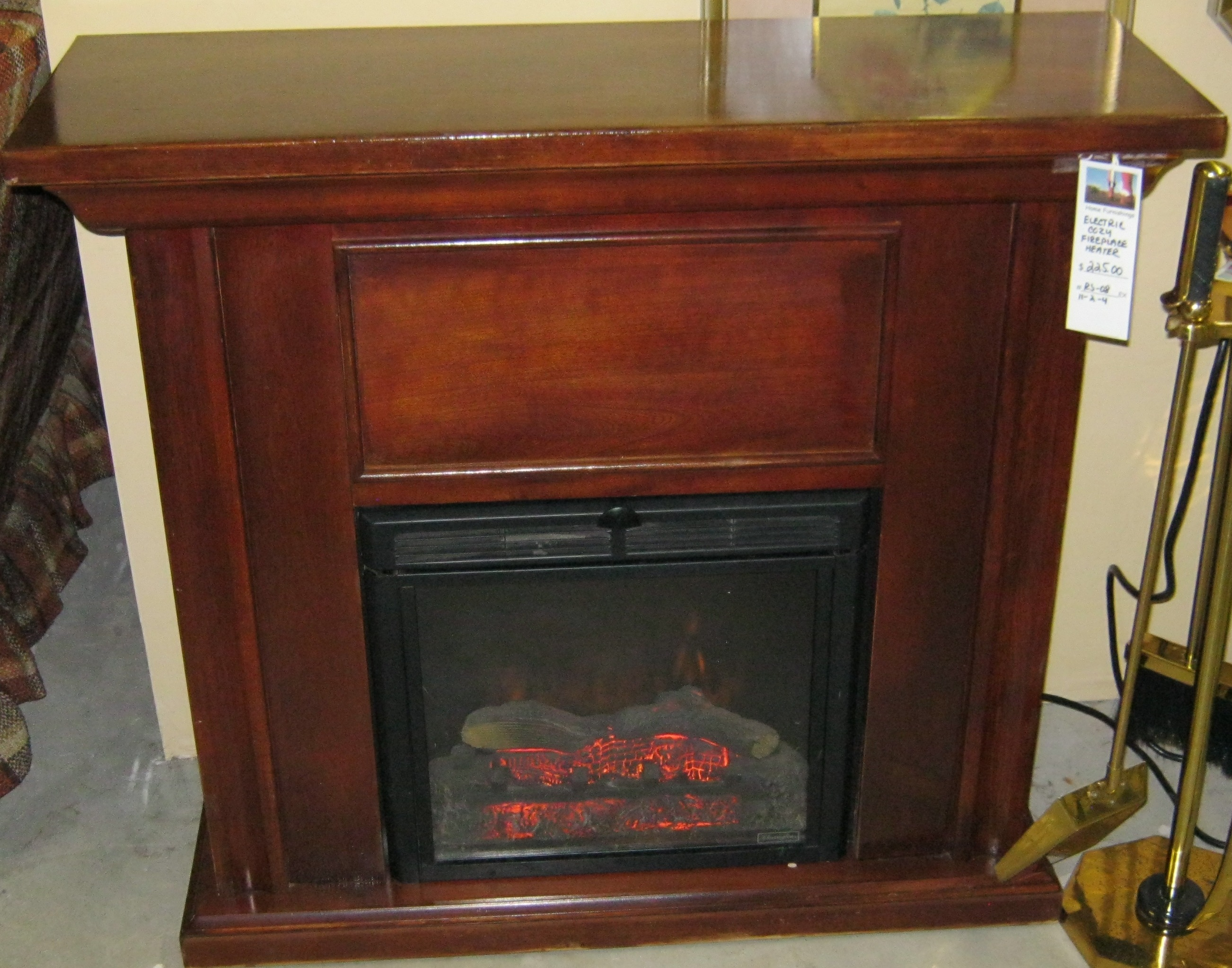 RS-08 Electric Fireplace