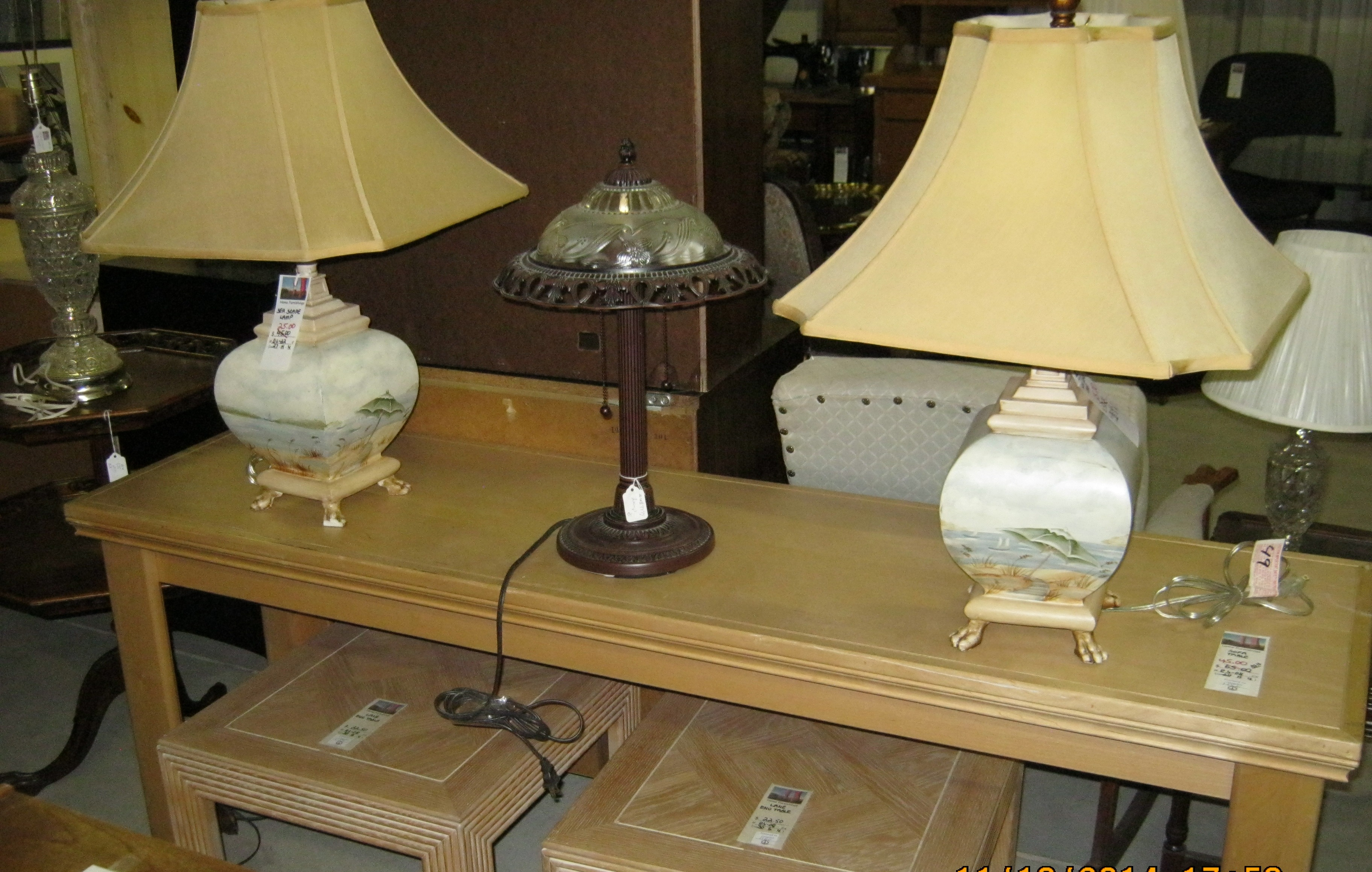 RS-08 Sofa Table DL-22 Sea Scape Lamps