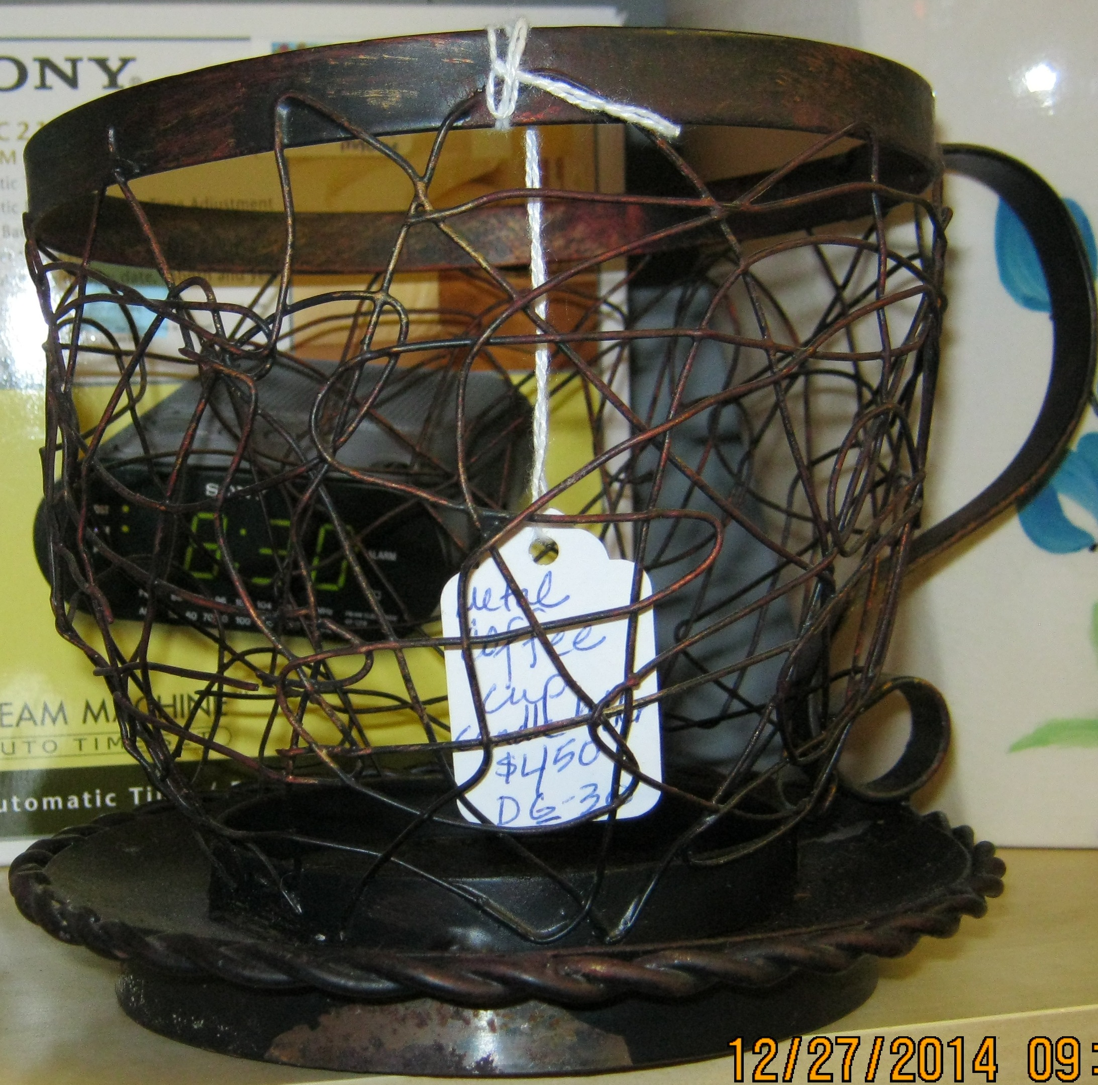DG-30 Wire Coffee Cup