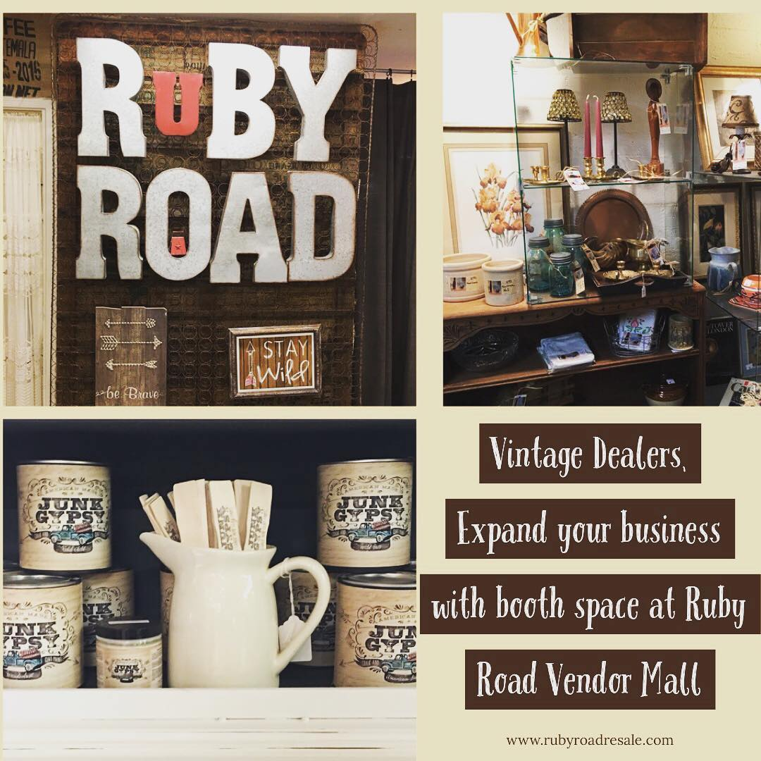Ruby Road is the Best Vintage Mall in  Central AZ Open 7 days a week & professio...