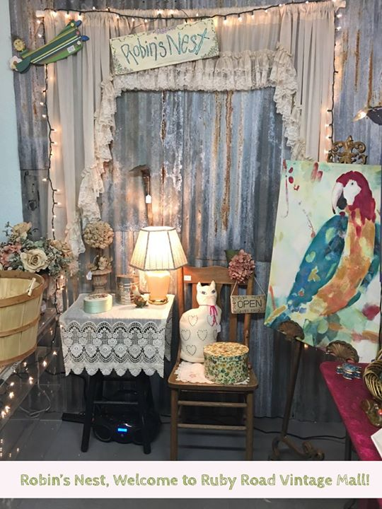Welcome to one of our newest vendor booth at Ruby Road Vintage Mall! Robin's Nes...